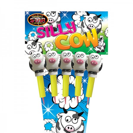 Silly Cows 1.3g Rocket 5 Pack
