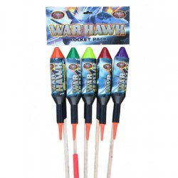 Warhawk 1.3g Rocket 5 Pack