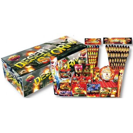 The Desert Storm Crate Barrage Pack