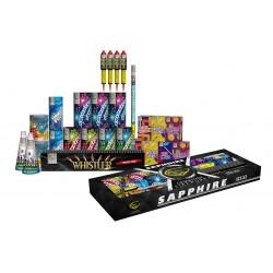 Sapphire 26 Fireworks Selection Box