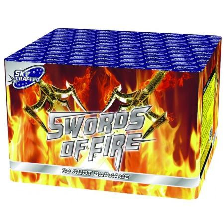 Swords of Fire 30 Shot Barrage