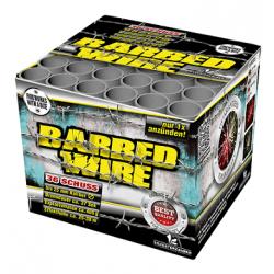 Barbed Wire Barrage 36 Shot