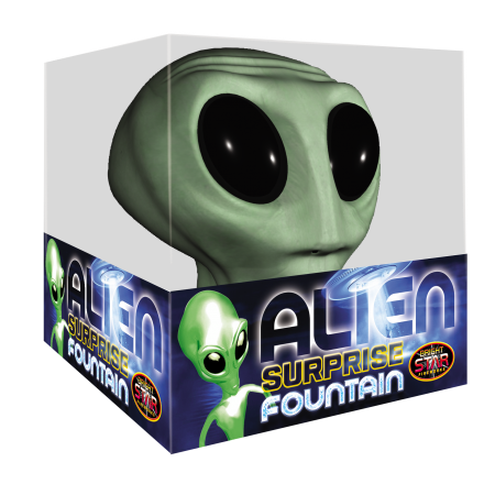 Alien Surprise Fountain ONLY 1 LEFT