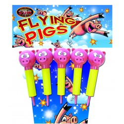 Flying Pigs 1.3g Rocket 5 Pack