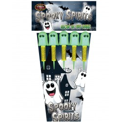 Spooky Spirits 1.3g Rockets 5 Pack