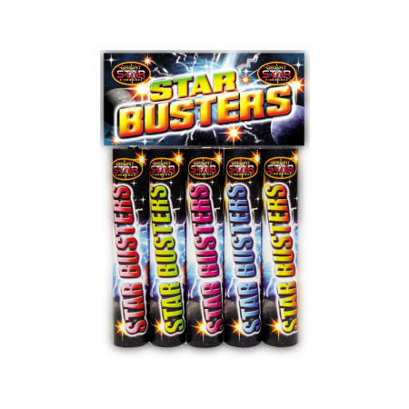 Star Busters Roman Candles